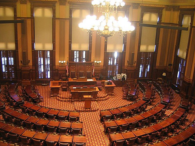 Attractive Ga House Of Representatives   House Of Representatives State Capitol  Atlanta Usa January 2008 Flickr