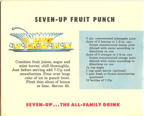Seven-Up Fruit Punch