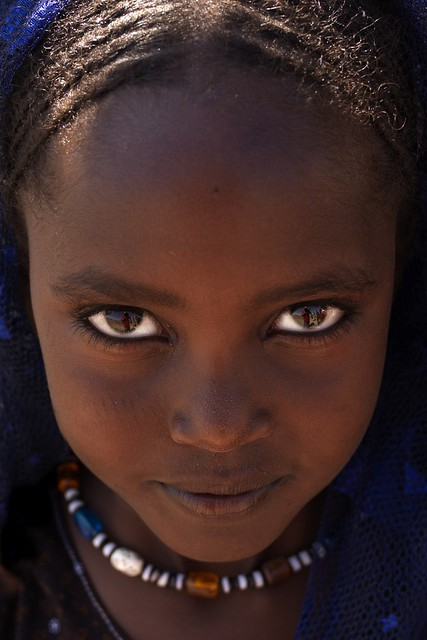 Young Afar Tribe Girl, Assaita, Afar Regional State, Ethiopia