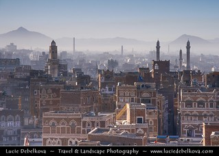 Yemen - Sanaa - Capital of Yemen & The most facinating city in the Arab world