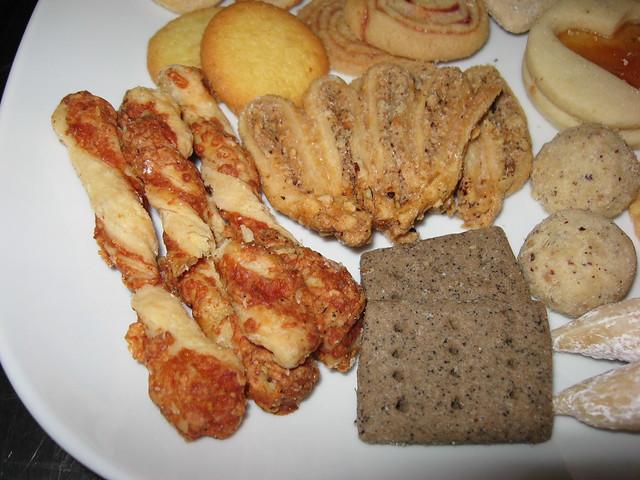 Black Hound: Cookies - cheese sticks, hazelnut walnut fans, espresso ...