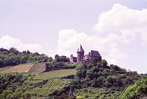 Castle Ruins along the Rhine