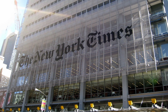 NYC: New York Times Building