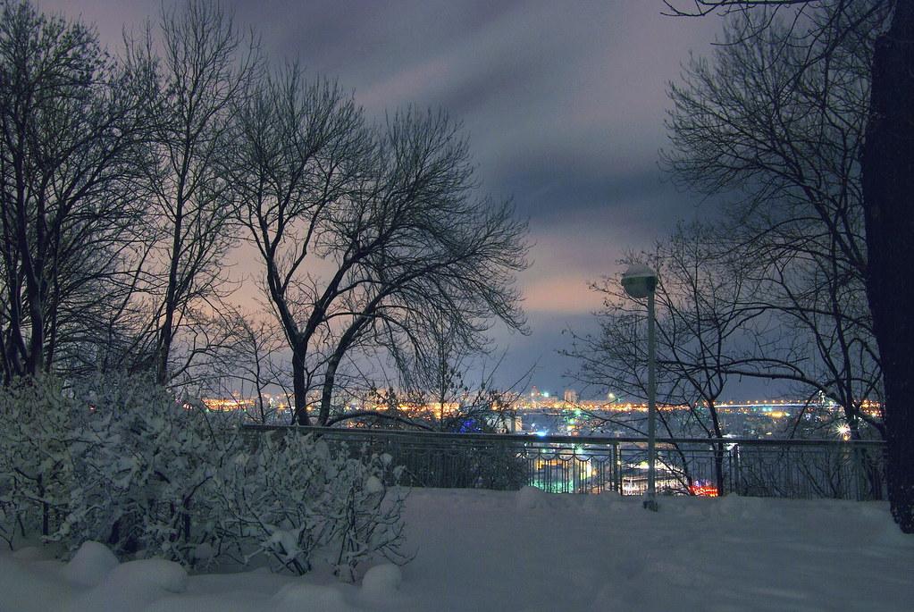 Kiev. View from St.Vladimir's Hill on left bank