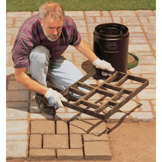 Diy project faux stone pavers house obsession for Diy stone projects