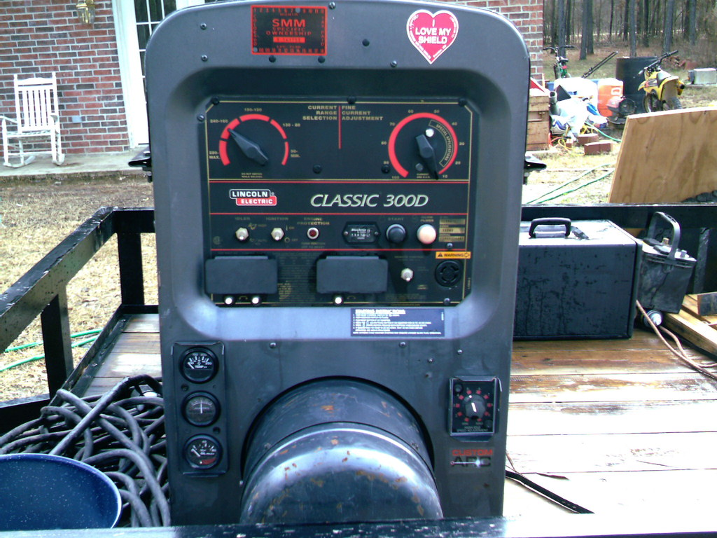 300D Pipeliner Lincoln Welding Machine
