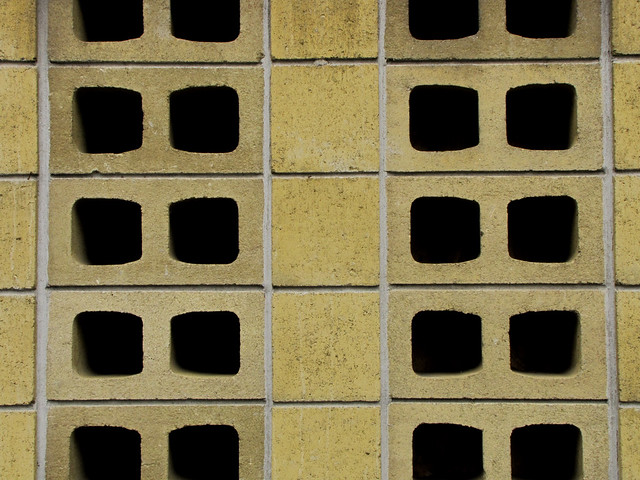 Perforated Brick Wall A Photo On Flickriver