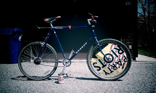 2011 Hardcourt Bike Polo Steed