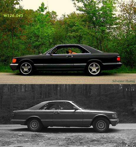 door two hardtop sports car mercedes benz 22 view side profile 1991 gt sec coupe v8 560 2door rwd w126 2dr 560sec c126