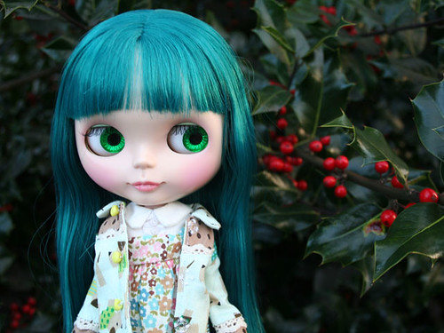 Lady Emerald and the Holly bush