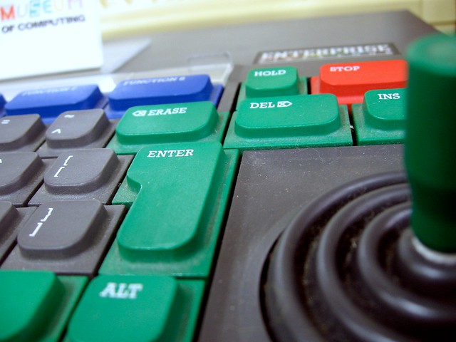 Enterprise 64 keyboard