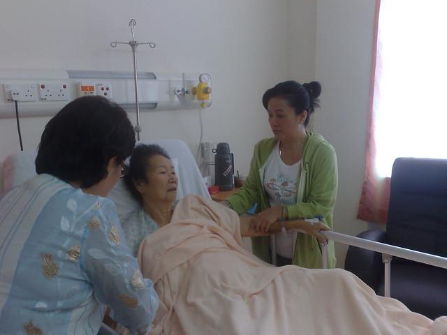 Grandma In Hospital Flickr Photo Sharing