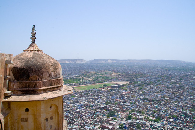 View From Jaipur City Palace by CC user particlem on Flickr