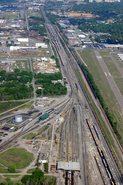 Columbia, SC Rail Yard