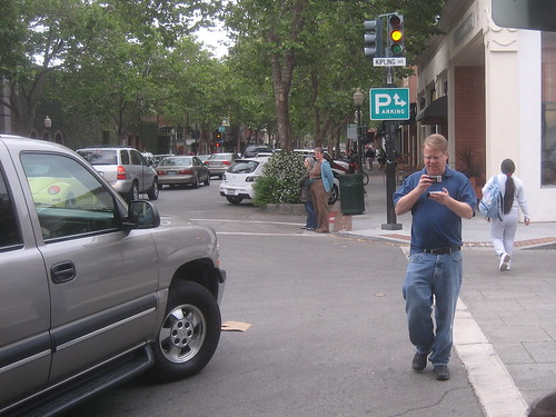Robert Scoble recording a vlog