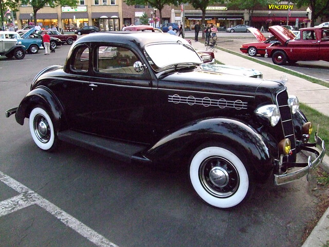 1930 S Plymouth Coupe Like Bogie Might Have Driven In A