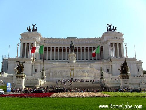 Vittorio Emanuele II Monument, Pza Venezia (Rome in A Day Tour)