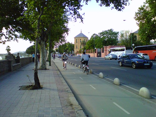 Seville Bicycle Lanes