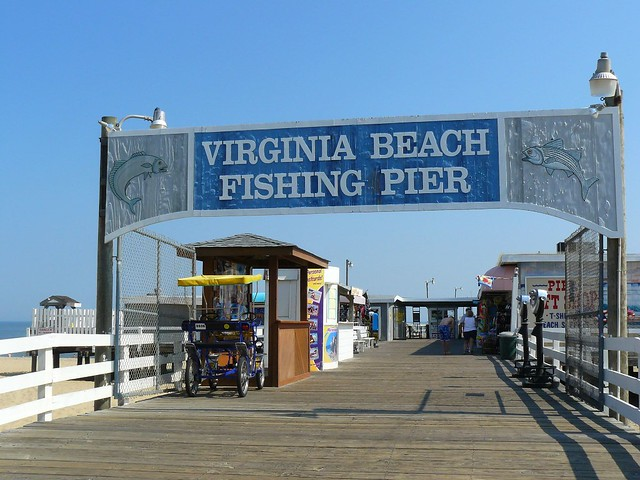 Virginia beach fishing pier flickr photo sharing for Fishing virginia beach