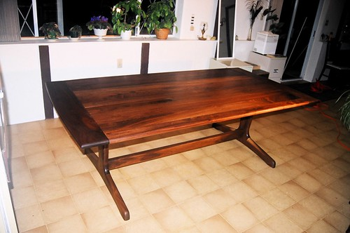 Maloof Inspired Dining Table