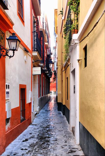 Sevilla calle reinoso entre calles jamerdana y lope de - Calle correduria sevilla ...