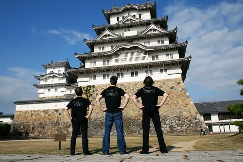 Testing the Himeji Castle