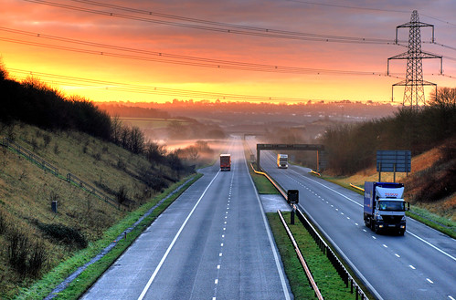 Daybreak on the M48