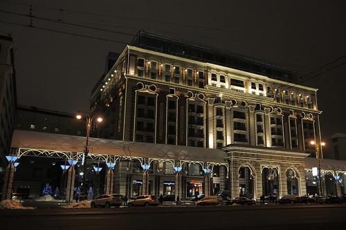 Ritz-Carlton Hotel, Tverskaya, Moscow