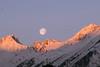 Sonnauf-, Monduntergang by beni_angerer