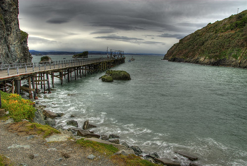 ocean california winter sea storm clouds bay pier boat humboldt fishing fisherman pacific cloudy stormy trinidad hdr photomatix 5exp flickrsbest