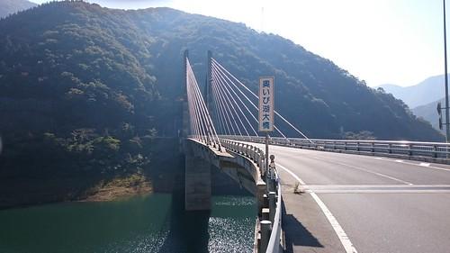 徳山ダムは道中すら素晴らしい