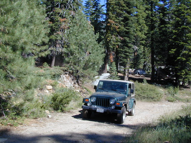 Jeep Road to Campsite