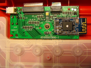 Top of the keyboard PCB