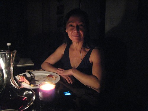 blackout, power outage, candle light dinner IMG_0675