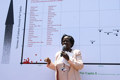 Minister of Enviroment for Uganda at the Graph of Injustice