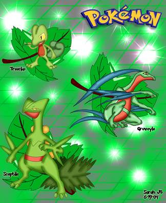 TREECKO EVOLUTION 1 | ...