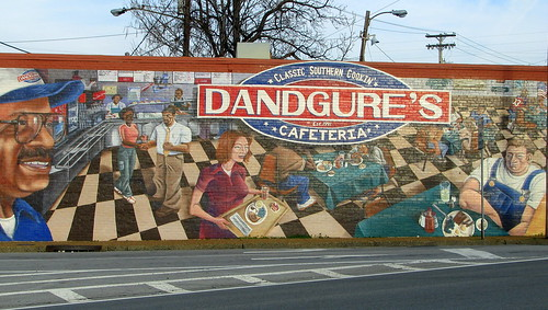 Dandgure's Cafeteria mural