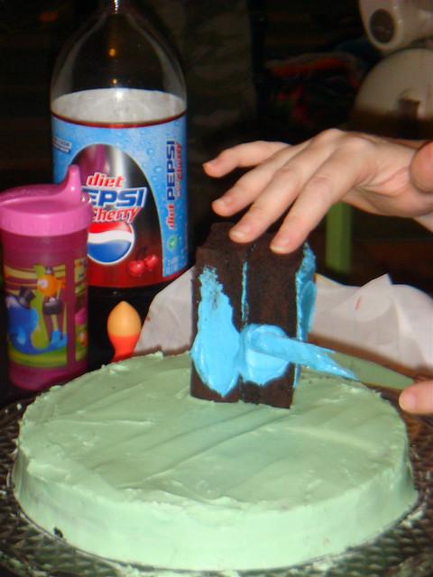 Diy Tardis Cake