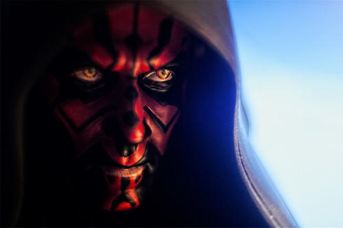 Mini bust GG 6' high : Darth Maul
