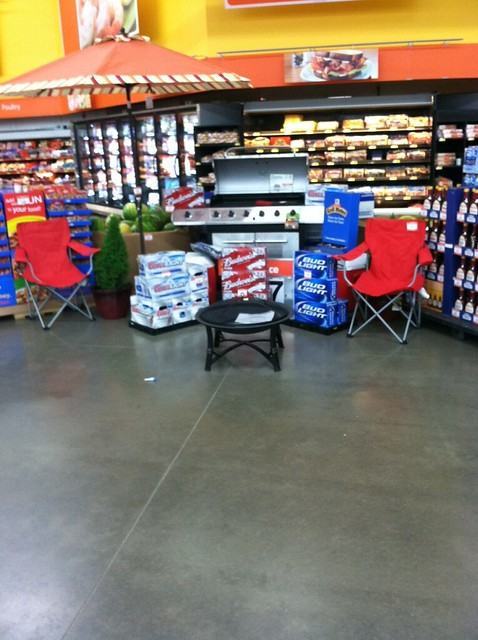 Walmart Memorial Day Grilling Display | Flickr - Photo ...