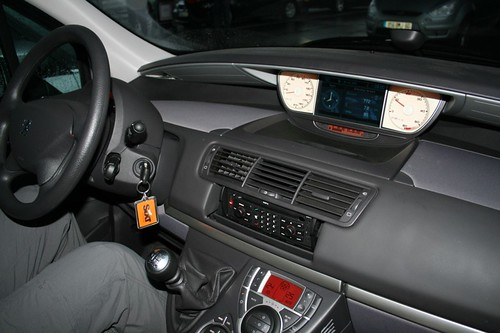 Automotive body modification for Interior peugeot 807