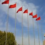 Red Flags - Kashgar, China