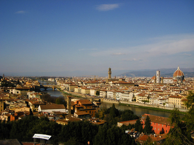 Skyline of Florence, Italy - Flickr CC beggs