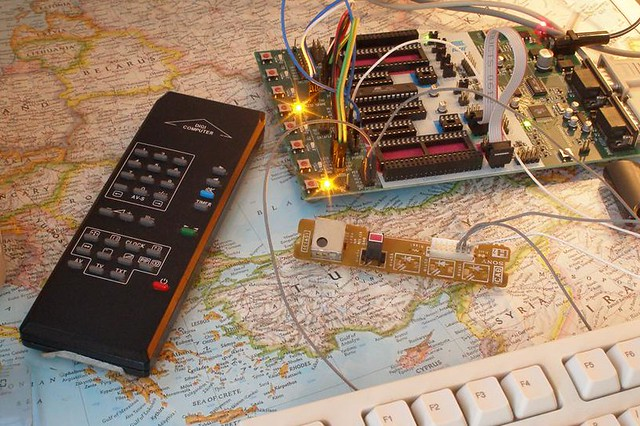 Infrared remote control receiver for arduino this is the