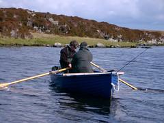 rowing(0.0), canoeing(0.0), raft(0.0), canoe(1.0), fishing(1.0), vehicle(1.0), skiff(1.0), outdoor recreation(1.0), watercraft rowing(1.0), recreational fishing(1.0), boating(1.0), fisherman(1.0), boat(1.0), paddle(1.0),