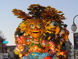 Carriage at the Carnival of Putignano