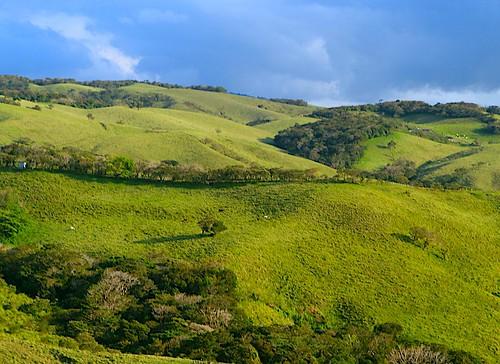 landscape costarica hills