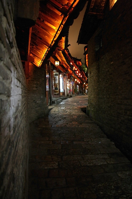Lijiang night