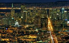SF Night from Twin Peaks