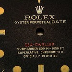 Rolex Sea-Dweller - Single Red - 1665 - Dial